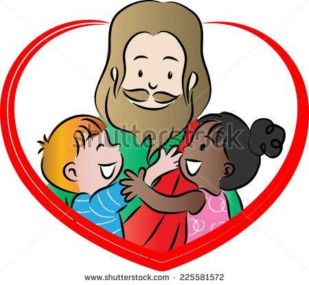 450x415 top 84 jesus children clip art