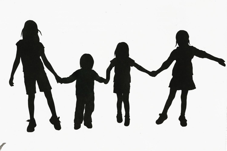 1500x1000 Free Children Clipart Black And White Image