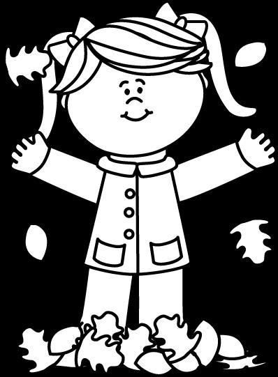 398x541 Black And White Fall Clip Art 101 Clip Art