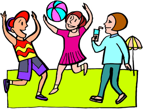 458x350 Children Playing Kids Playing Free Clip Art Children Clipart