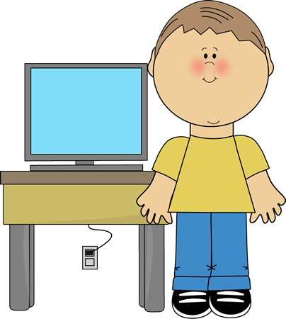 404x450 Free Computer Clipart For Kids Image