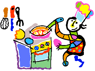 333x249 Kids Cooking Clipart