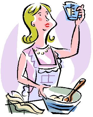 316x397 Mom Cooking Clipart