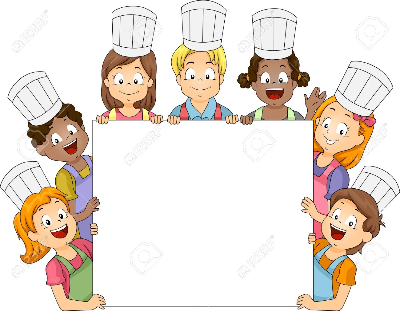 1300x1012 Clipart Children Cooking