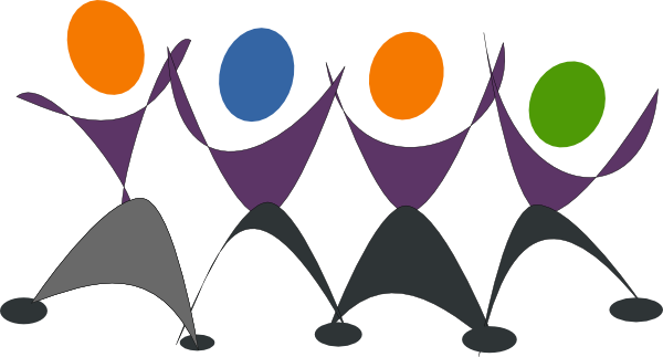 600x323 Dancing People Clip Art