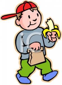 220x300 Banana Clipart Healthy Snack