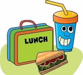 288x263 Cute Kids Clipart Lunch