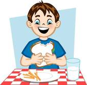 170x166 Child Eating Clip Art