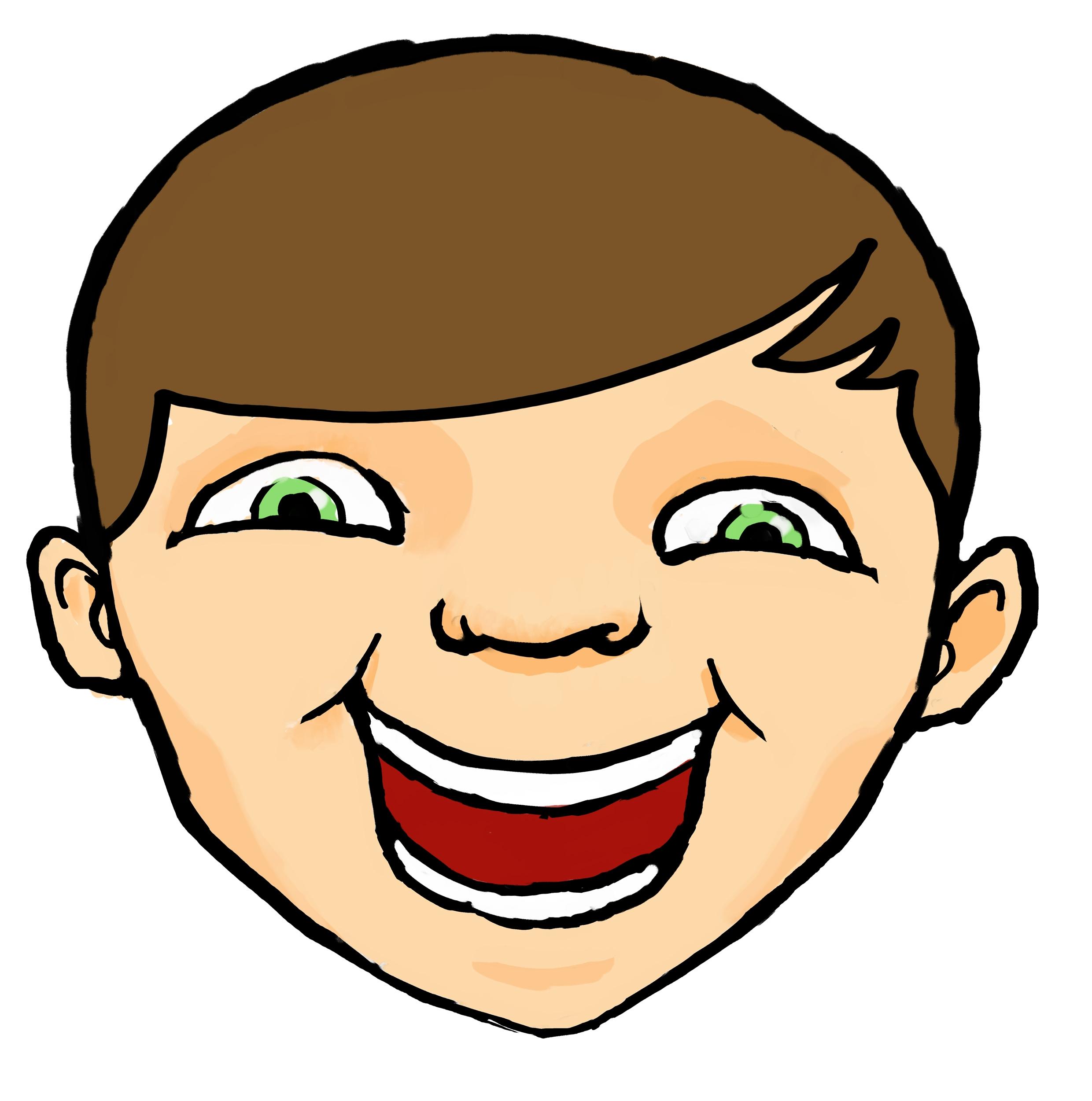 2480x2501 Clip Art Faces Cartoon