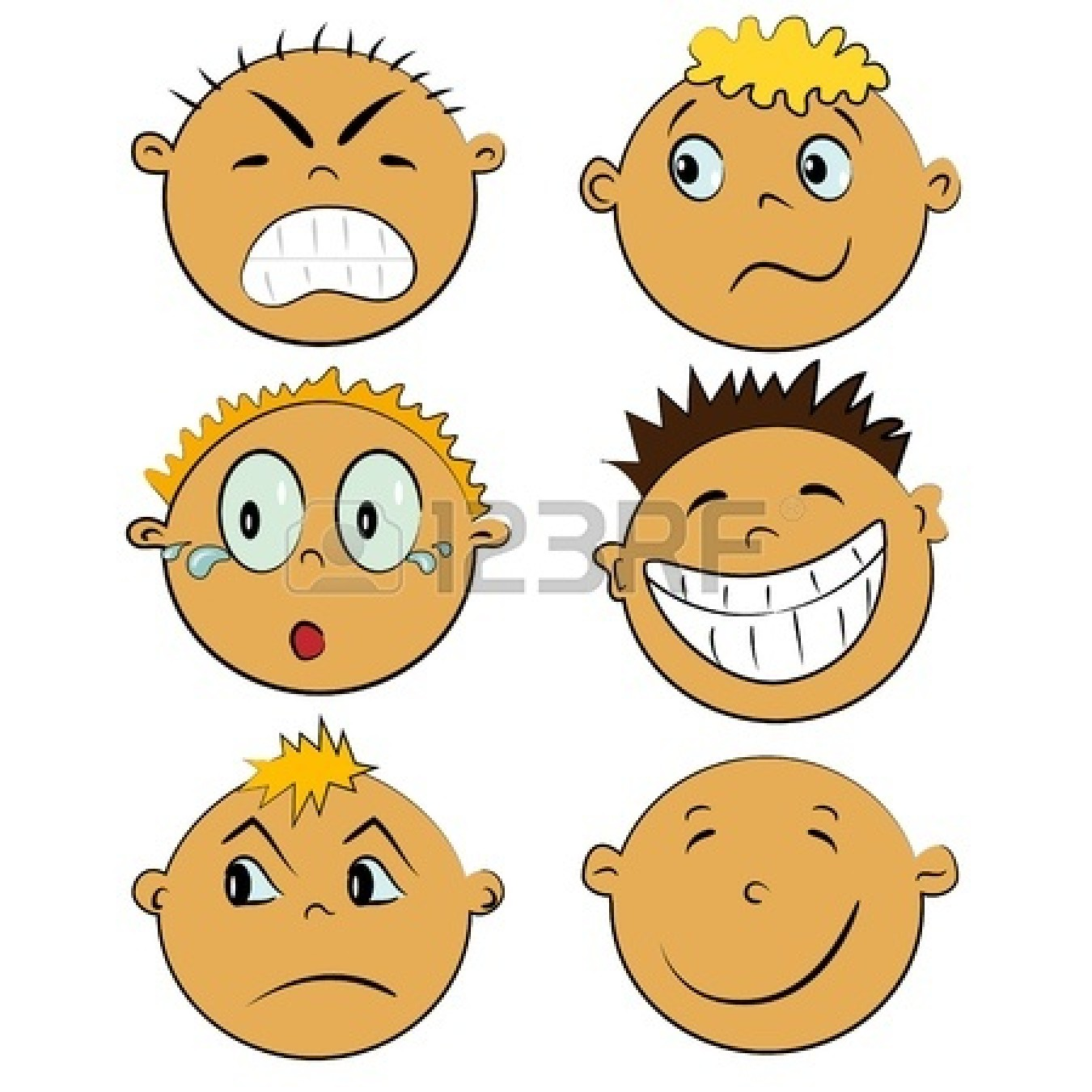 1350x1350 Expression Clipart Kid Feeling