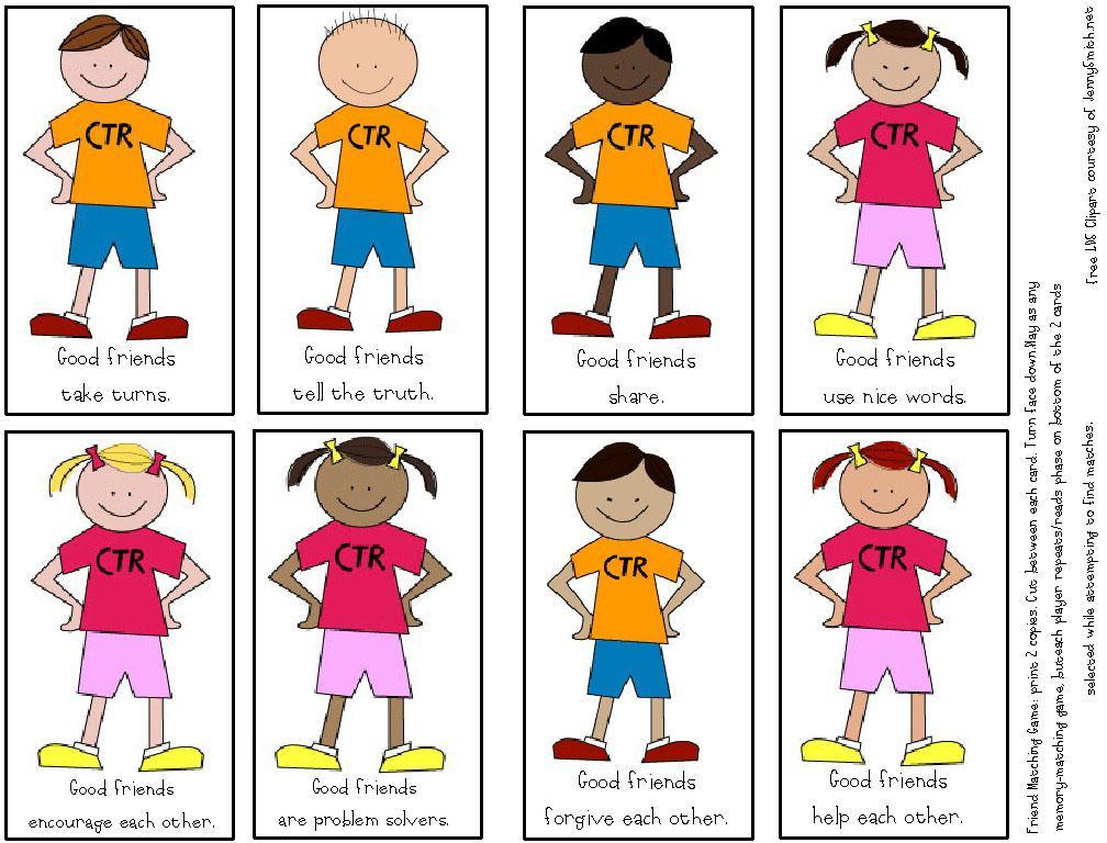 Children Friends Clipart | Free download best Children