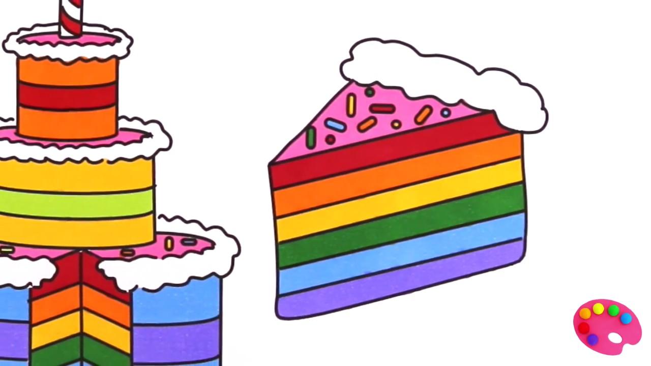 1280x720 Rainbow Cake Clipart Amp Rainbow Cake Clip Art Images