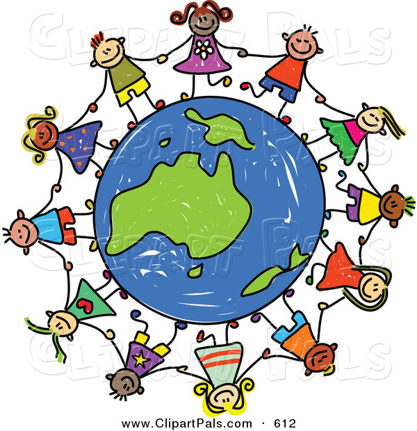 600x620 Pal Clipart Of Childs Sketch Of Children Holding Handsround