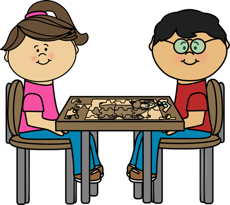 450x401 Child Clipart Puzzled