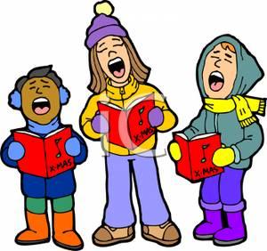 300x282 Children Singing Christmas Carols