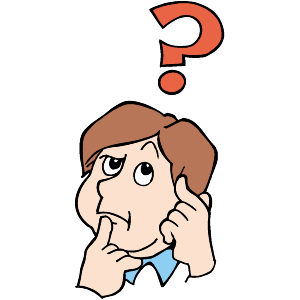 300x300 Thinking Face Clipart