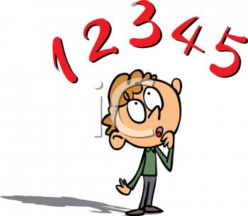 350x306 Cartoon Children Thinking Clip Art