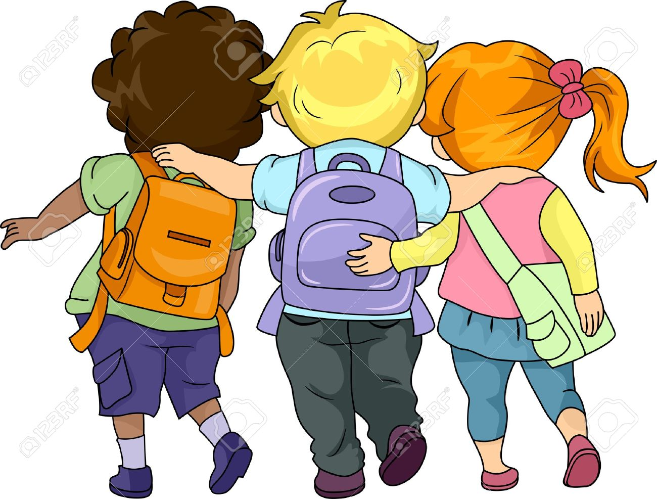 1300x987 Off To School Clipart