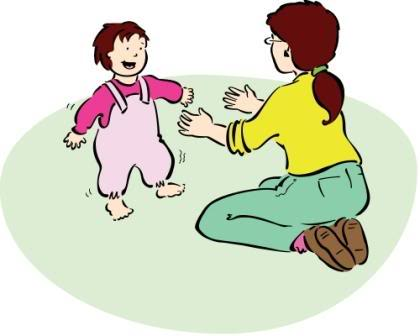 420x336 Walking Baby Clipart