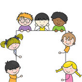 170x170 Little Kids Clipart Border Collection