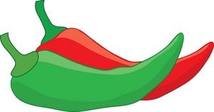 300x158 Chili Pepper Cartoon Clipart 2 Image