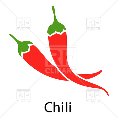 400x400 Chili Pepper Royalty Free Vector Clip Art Image