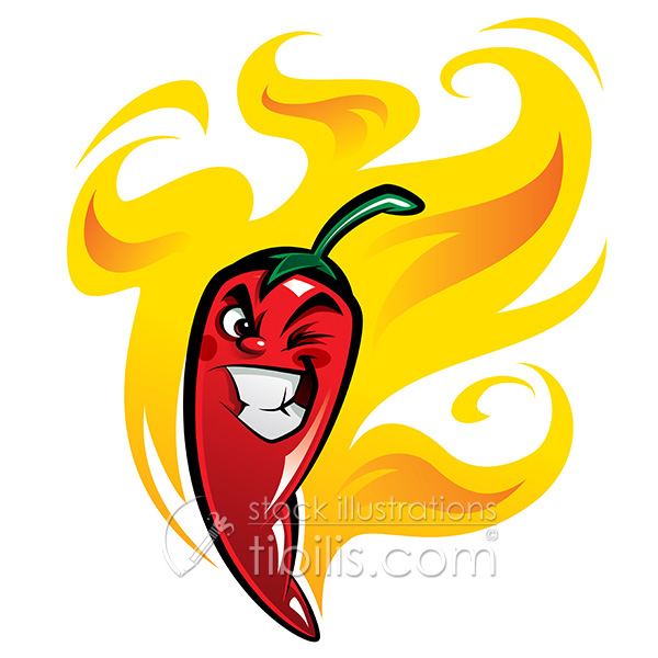600x600 Red Hot Chili Pepper On Behance