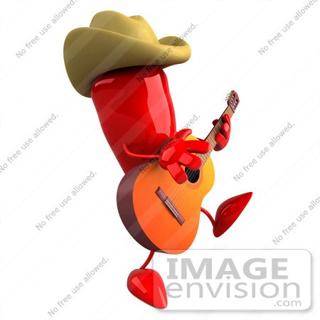 450x450 Royalty Free (Rf) Illustration Of A 3d Red Hot Chili Pepper Mascot
