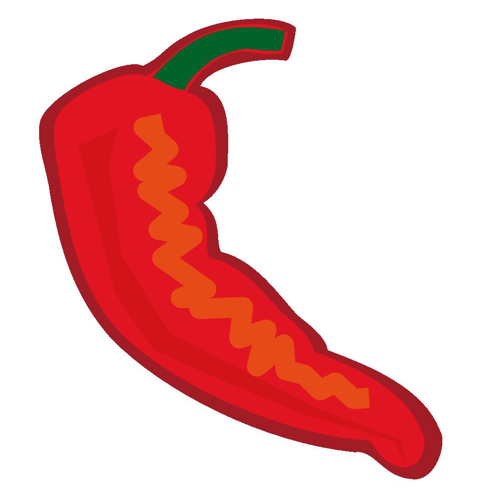 999x990 Chili Pepper Cartoon Clipart