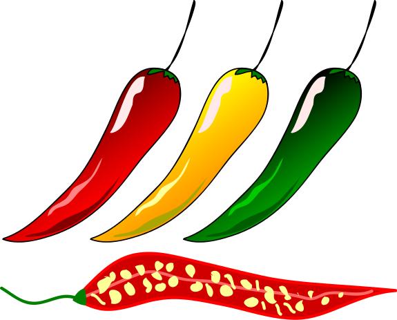 575x463 Chili Pepper Clipart 4
