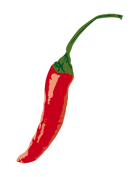 275x350 Free Red Chili Clip Art, Web Graphics