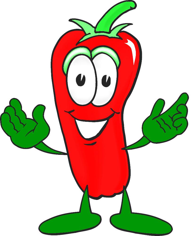 810x1000 Cartoon Chili Pepper Clipart 2 Image