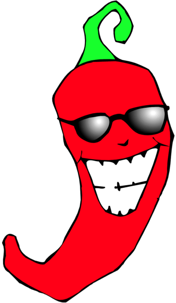 350x602 Chili Pepper Clip Art