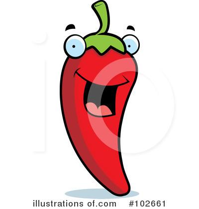 400x420 Chili Pepper Clipart