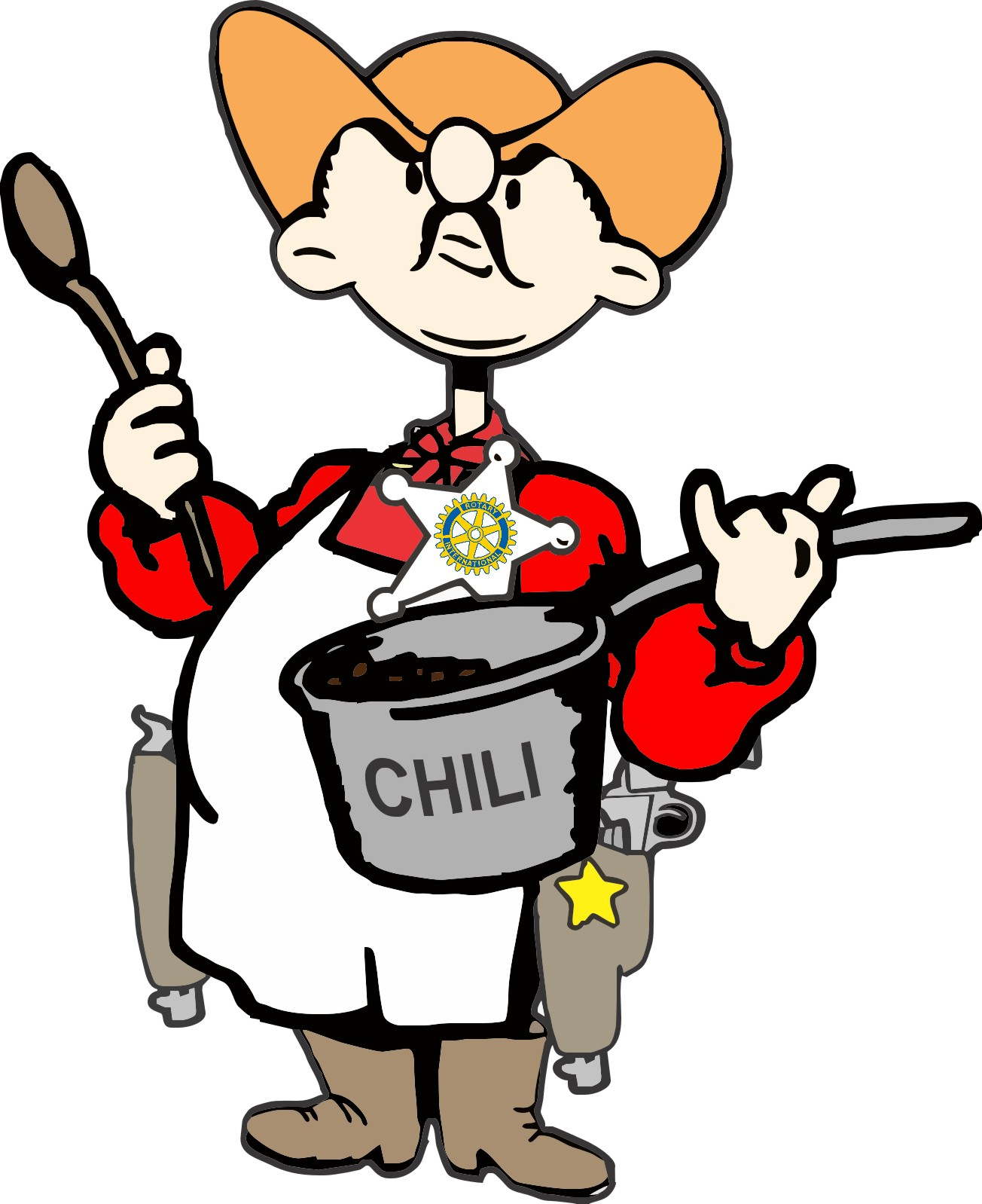1304x1598 Chili Cook Off Clipart