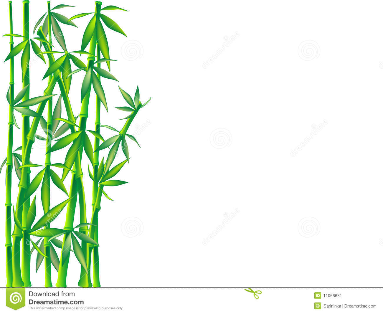 1300x1066 Bamboo Clipart Border