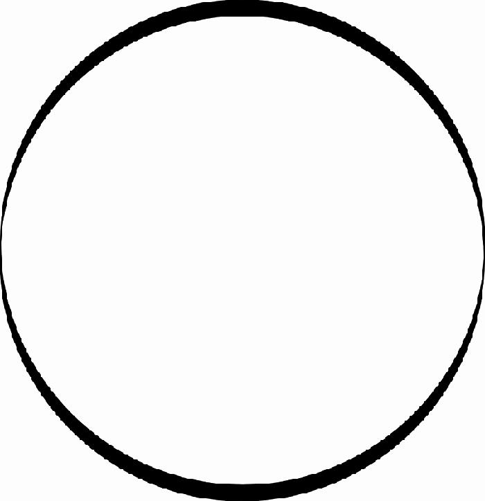 700x723 Black Circle Clipart