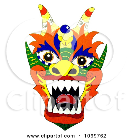 450x470 Chinese Dragon Clipart Dragon Face