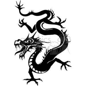 300x300 Royalty Free Chinese Dragon Image 383883 Vector Clip Art Image