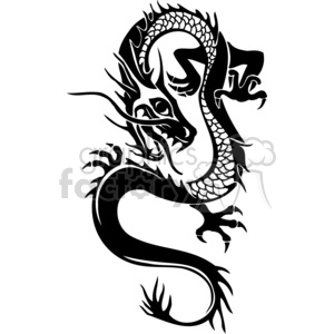 300x300 Royalty Free Chinese Dragons 006 383896 Vector Clip Art Image