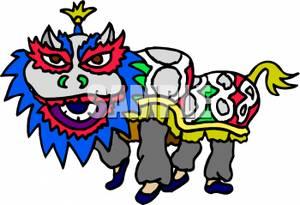 300x205 Chinese Dragon Clip Art
