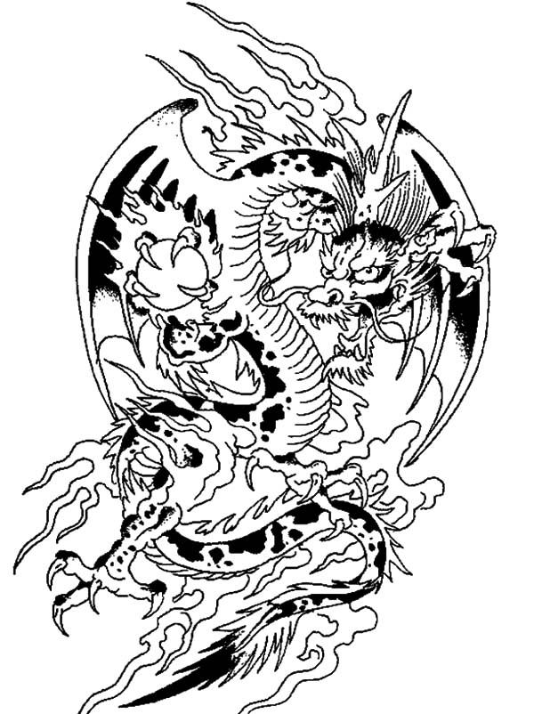 600x802 Chinese Dragon Netart