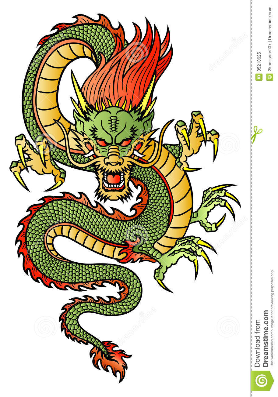 913x1300 Chinese Dragon Royalty Free Stock Photo