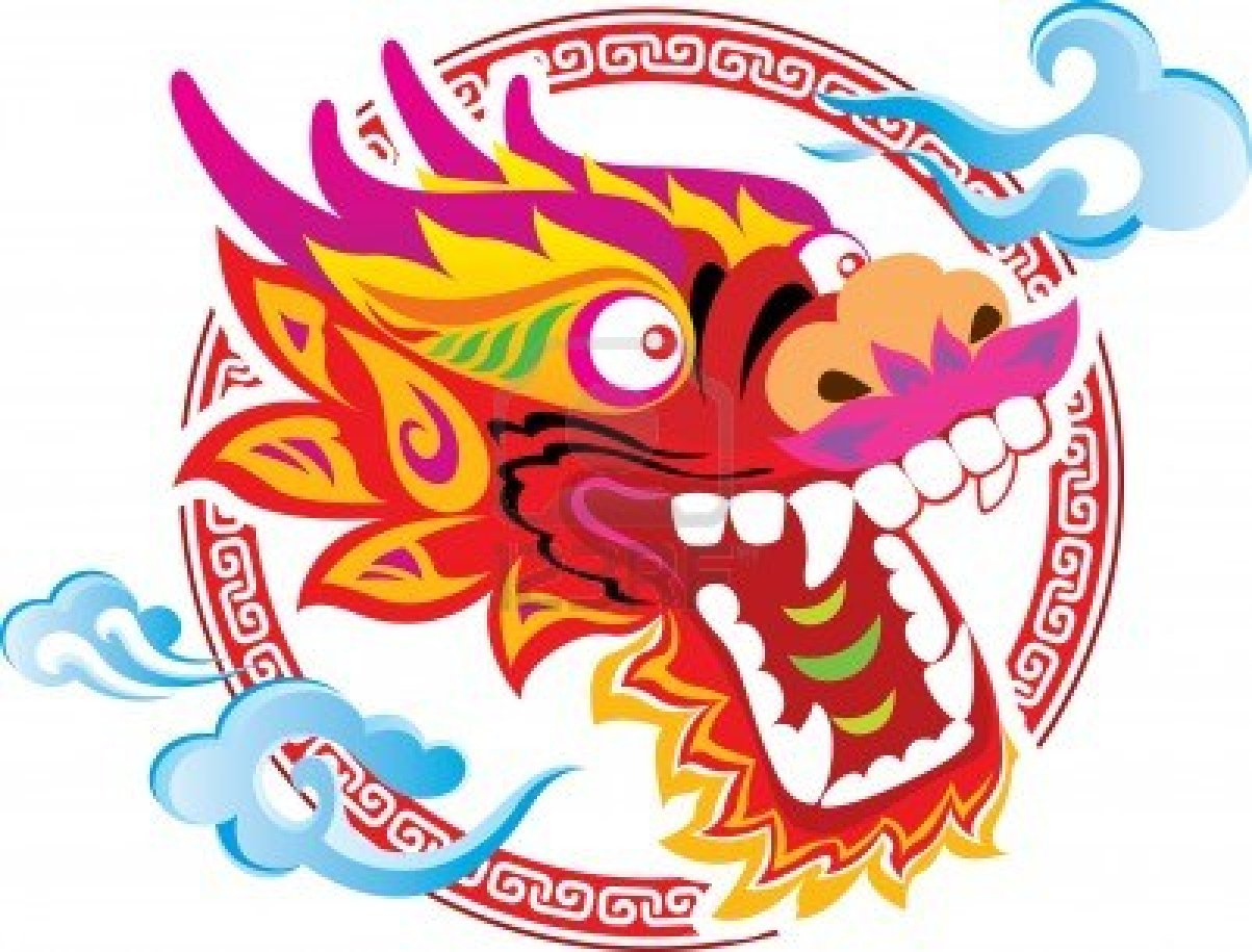 1203x915 4 Chinese Dragon Face. Clipart Panda