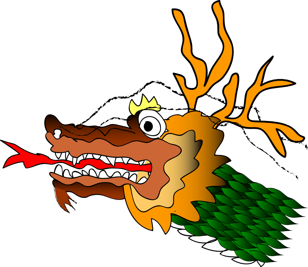 999x865 Dragon Clipart Dragon Face