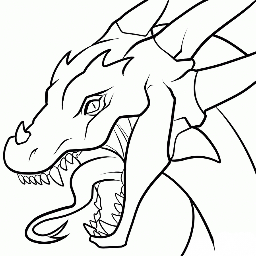 1024x1024 How Do You Draw A Dragon Easy How To Draw A Chinese Dragon Easy