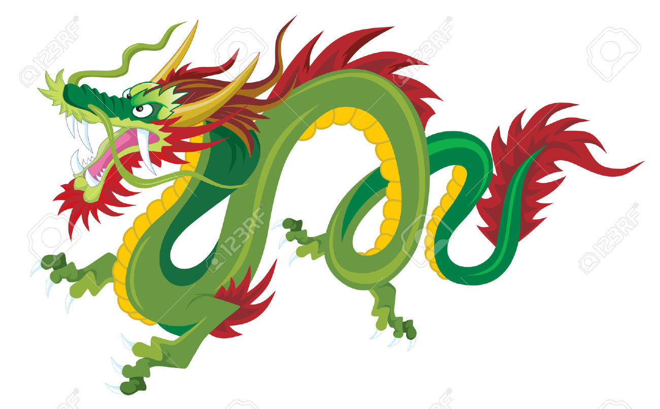 1300x806 Top 73 Chinese Dragon Clip Art