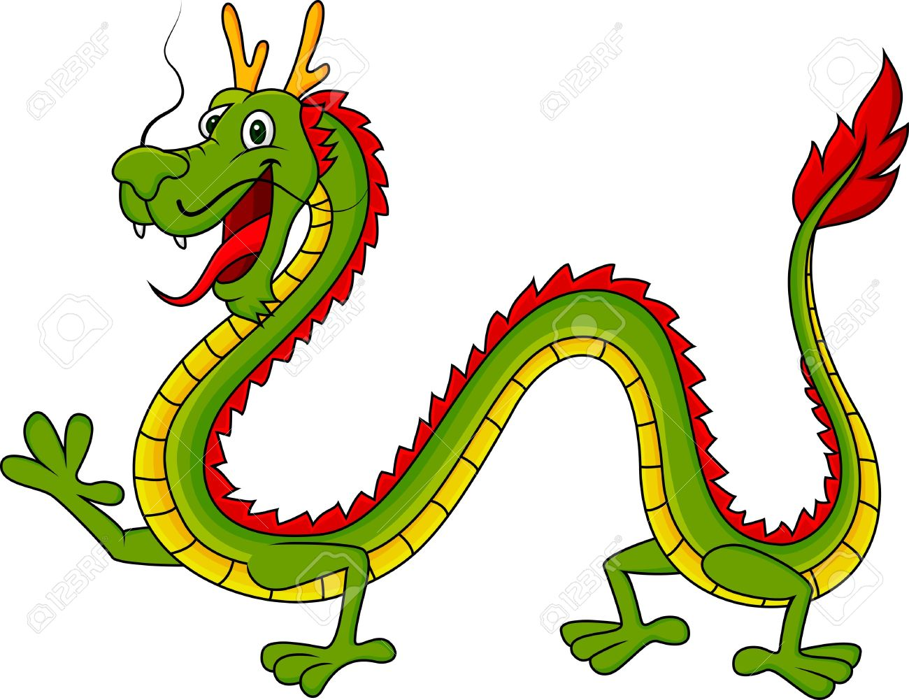 1300x1001 Chinese Dragon Clipart Fierce Dragon