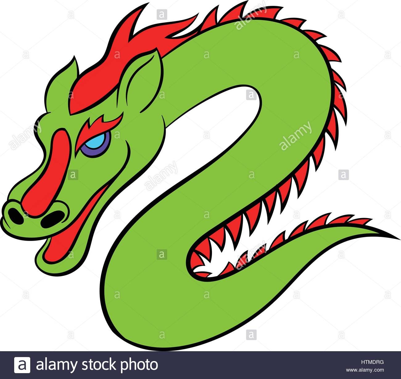 1300x1227 Green Chinese Dragon Icon Cartoon Stock Vector Art Amp Illustration