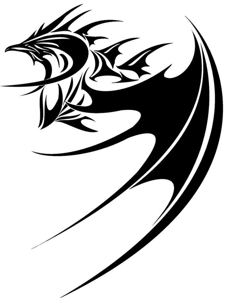 736x959 Download Dragon Tattoo Black And White